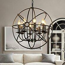 BAYCHEER große Lampe E14 Globe Hängeleuchte