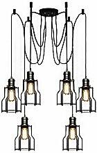BAYCHEER Industrielampe Haengeleuchte Retro