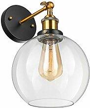 BAYCHEER Industrielampe Lampe Halterung Wandlampe