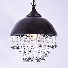 BAYCHEER Lampe Industrie Vintage Kristall