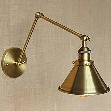 BAYCHEER Messing Wandleuchte Wandlampe Hängelampe