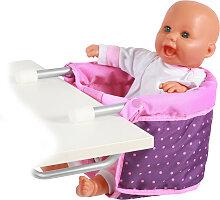 Bayer Chic 2000 Puppen-Tischsitz (Dots