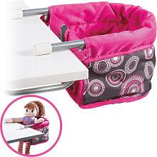Bayer Chic 2000 Puppen-Tischsitz (Hot Pink Pearls)