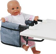 Bayer Chic 2000 Puppen-Tischsitz (Jeans Blue)
