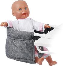 Bayer Chic 2000 Puppen-Tischsitz (Jeans Grey)