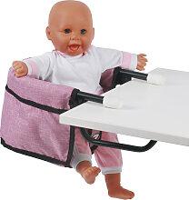 Bayer Chic 2000 Puppen-Tischsitz (Jeans Pink)