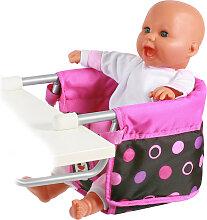 Bayer Chic 2000 Puppen-Tischsitz (Pinky Balls)
