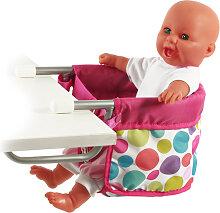 Bayer Chic 2000 Puppen-Tischsitz (Pinky Bubbles)