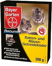 BAYER Ratten und Mäuse Getreideköder 500g