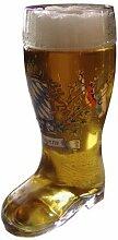 Bayerisch-schenken Bierglas Stiefel - 1 Liter