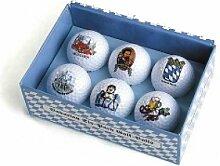 Bayerischer Sechs-Ball Golfball, Bayerischer