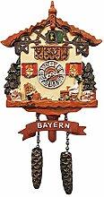 Bayern Deutschland 3D Kuckucksuhr