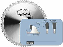Bayerwald - HM Kreissägeblatt - Ø 120 mm x 1,8