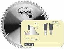 Bayerwald - HM Kreissägeblatt für Holz - Ø 260