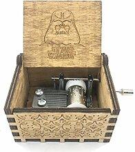 Bayram® Star Wars Musik-Box mit Handkurbel aus