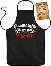 Bayrische Mama Kochschürze - Sprüche