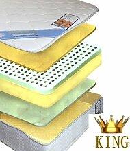Bayscent KING Viskose Visco Schaum Matratze 80x200