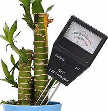 Bazaar 2 In 1 Analyzer Soil Tester PH Instrument Gartengeräte