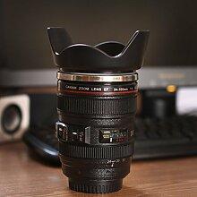 Bazaar 380ml Creative Emulation Kamera Objektiv Kaffee Tasse Bier Cup WINE Cup Neuheit Geschenk