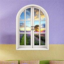 Bazaar 3D Lavender Welt Künstliche Fenster