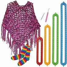 Bazaar 4 Größen DIY Schal Schal Hut Socken Decke