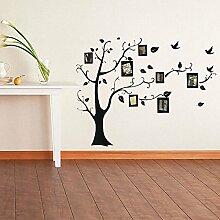 Bazaar Bilderrahmen Baum Familie Bild Wandtattoo