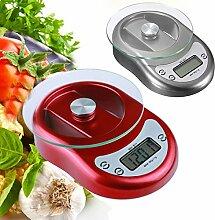 Bazaar Digitale Küchenwaage mit Countdown- und