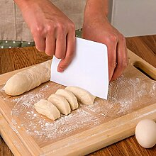 Bazaar Durable Butter Teig Trapez Kuchen Scraper Backen Werkzeuge