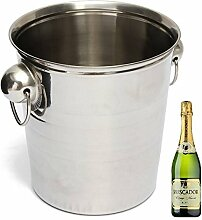 Bazaar Edelstahl-Eis-Eimer Champagner-Fass-Bier-Wein-Kühlvorrichtung-Multifunktionsstab-Werkzeuge
