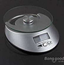 Bazaar Elektronische Küchenwaage, 5 kg