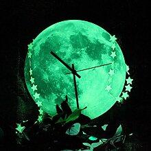 Bazaar Form de Lune Kreative Wanduhr 12Inch
