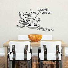 Bazaar Kaffee Restaurant Wandtattoo 3D Home