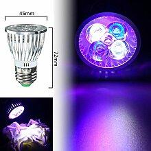 Bazaar LED Full Spectrum Korallenriff Pflanze wachsen Licht PAR30 Aquarium Aquarium E27 5W