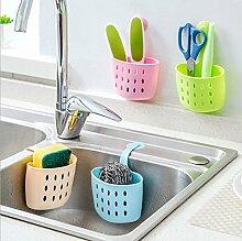 Bazaar Mehrzweckküchen Storage Baskets Hanging Ablassbeutel Sink Schwamm Badezimmer Organizer Tools