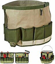 Bazaar Multifunktions 600D Oxford Garden Tool Bag Organizer Faltbare Hardware Tools Kit Bag