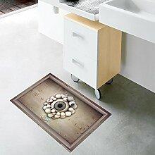 Bazaar PAG 3D Badezimmer Schlupf Augapfel Muster