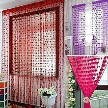 Bazaar schönen Tür Fenster Vorhang Dekoration
