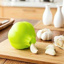 Bazaar Silikon Knoblauchschäler Knoblauchschale Werkzeuge Küche Gadget Zubehör