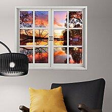 Bazaar Sunset 3D Artificial Fenster Ansicht 3D