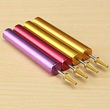 Bazaar tragbar Leder Kantenbearbeitung Leder Carving Craft Tools Pen Home Tool Helper Zubehör Supplies