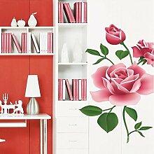 Bazaar Vinyl Abnehmbare Rose Wandtattoo Home