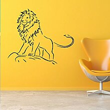 BB.er Kreativer Löwe-Wand-Aufkleber-Kinderzimmer