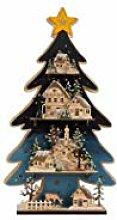 bb10 Schmuck Lichterbaum mit Winterlandschaft und