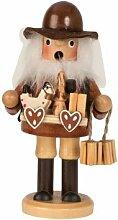 bb10 Schmuck Räuchermannfigur mit Lebkuchenherzen