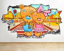 BB201 Nette Bären Kinder Jungen Mädchen