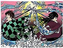 BBAGG Demon Slayer Tapisserie Anime, Wanddecke