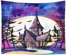 BBAGG Halloween Wandteppich Halloween Party
