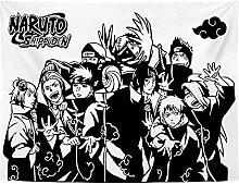 BBAGG Naruto Tapisserien Wandkunst hängenden