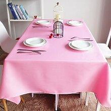 Bbdsj Einfarbige tischdecke,Home