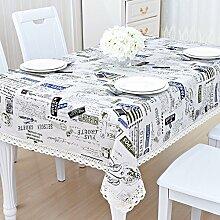 Bbdsj Home Tischdecke,kreative Tischtuch,Stoff